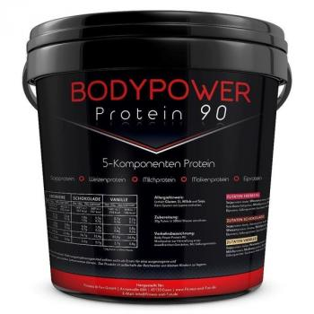 Body Power Protein 90 5kg Eimer