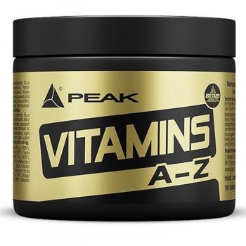 Peak Vitamins A-Z 180 Tabletten Dose