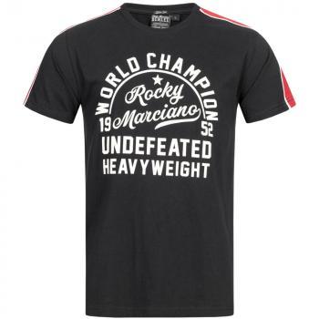 Benlee Binfield T-Shirt Schwarz-Rot Herren Slim Fit Shirt