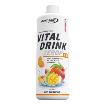 Best Body Vital Drink 1000ml Flasche Mineraldrink