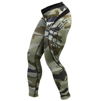 Better Bodies Camo long tights (110704)