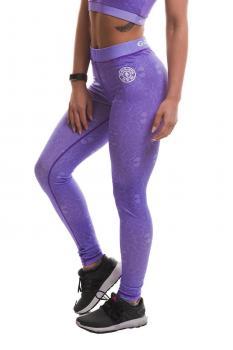Golds Gym Pattern Printed Long Gym Tight Pants