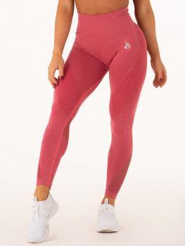 Ryderwear Seamless Tights Leggings Hot Pink Marl