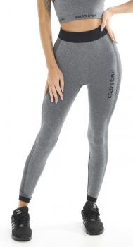 Golds Gym Ladies Seamless Legging grey