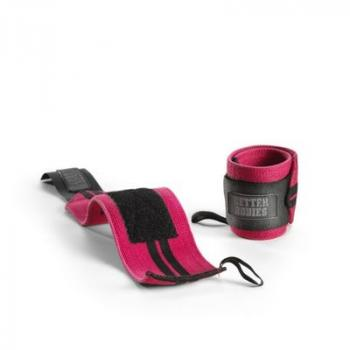 Better Bodies Womens Wrist Wraps Pink