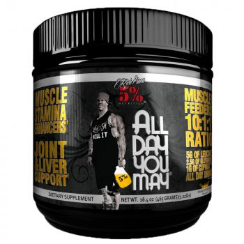 5% Nutrition Rich Piana All Day You May 456g Dose