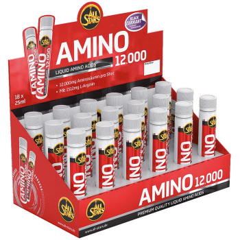 ALL STARS Amino Liquid 12.000 18 x 25ml Ampullen All Stars Creatin Kapseln 240 Kapseln Dose