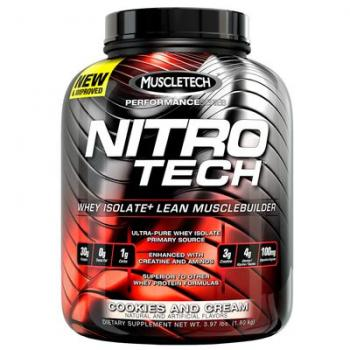 Muscletech Performance Series Nitro-Tech 1814g Nitrotech Dose