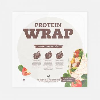 More Nutrition More Protein Wraps 320g (8 Stück)