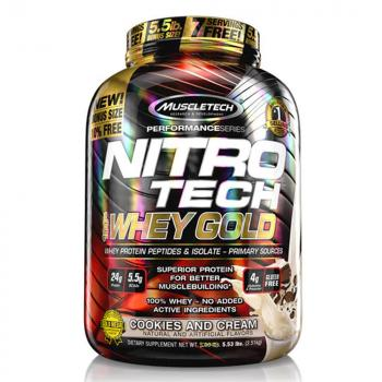 Muscletech Nitro Tech 100% Whey Gold 2,5kg Dose