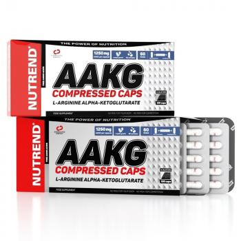 Nutrend AAKG Compressed Caps 120 Kapsel Packung