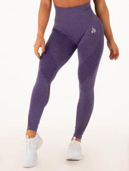 Ryderwear Seamless Tights Leggings Indigo Marl